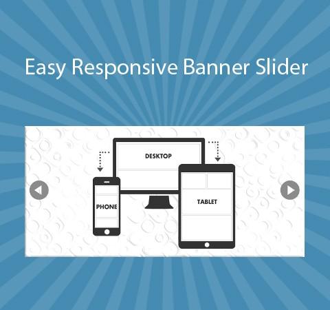 Easy Responsive Banner Slider
