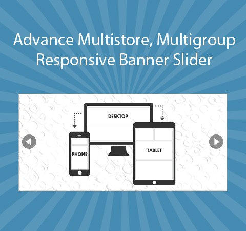 Advance Multistore, Multigroup Responsive Banner Slider